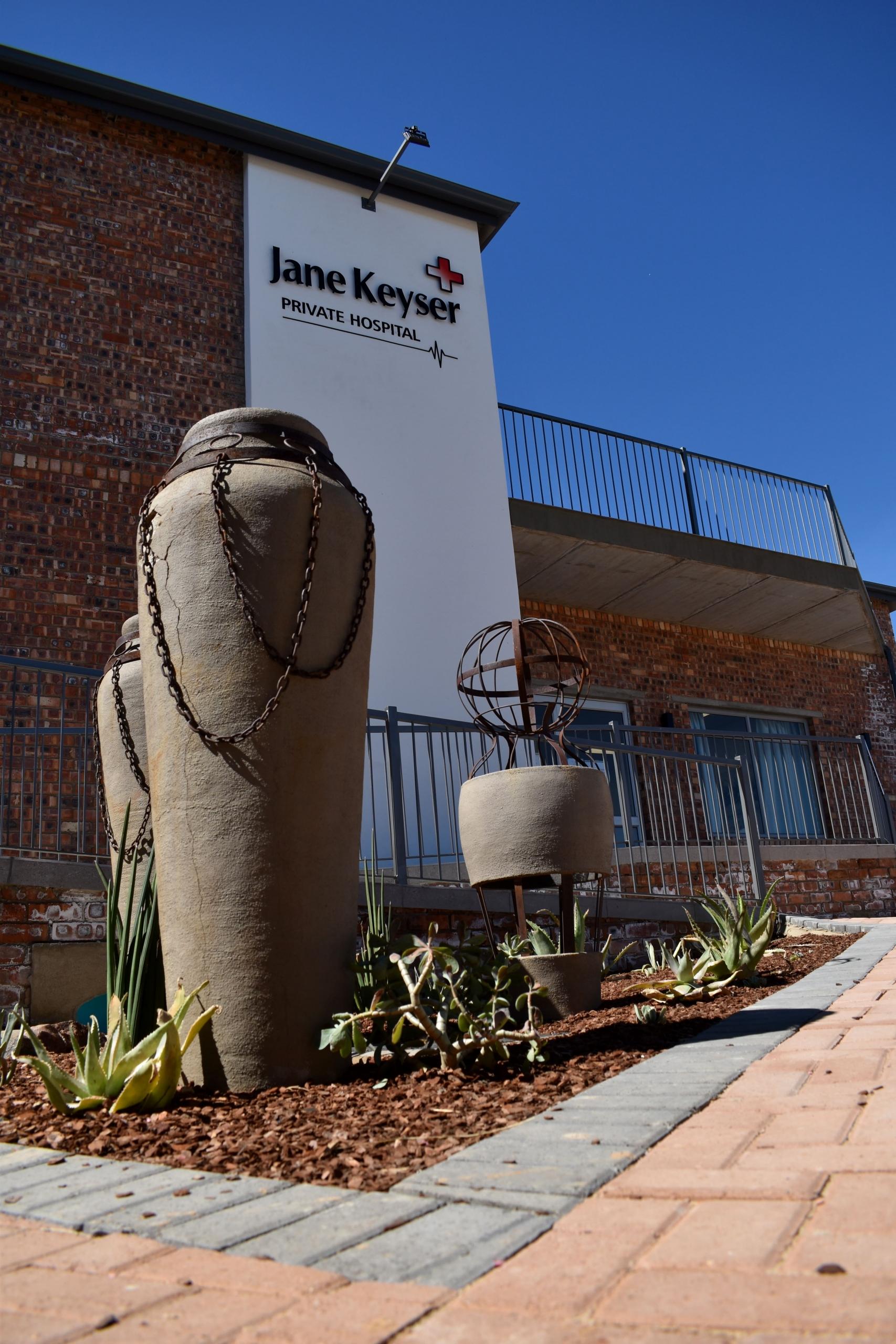 Jane Keyser Clinic - Front Entrance